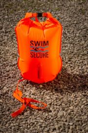 Inflatable Swimmers Dry bag - 28Ltrs Medium - Orange